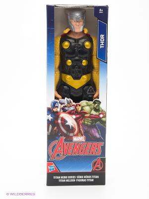 Фигурка Мстителей КЛАССА А. Титан Hasbro. Цвет: черный, синий