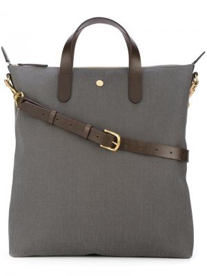 Detachable strap shopping bag Mismo. Цвет: серый