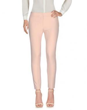 Повседневные брюки PAOLO CASALINI. Цвет: розовый