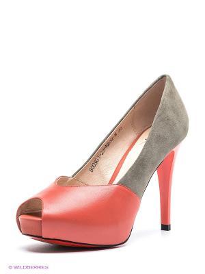 Туфли Sinta Gamma. Цвет: красный