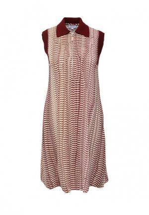 Платье Escada Sport. Цвет: разноцветный