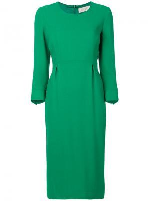Платье-футляр Electra Goat. Цвет: зелёный