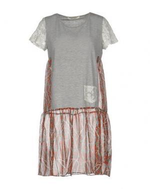 Короткое платье GIORGIA & JOHNS. Цвет: красный