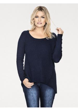 Пуловер B.C. BEST CONNECTIONS. Цвет: коньячный, кремовый, светло-серый, темно-синий