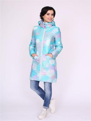 Пальто nasha. Цвет: белый, зеленый, розовый