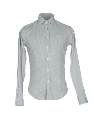 Pубашка BRIAN DALES. Цвет: зеленый