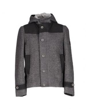 Куртка ROBERTO PEPE. Цвет: свинцово-серый