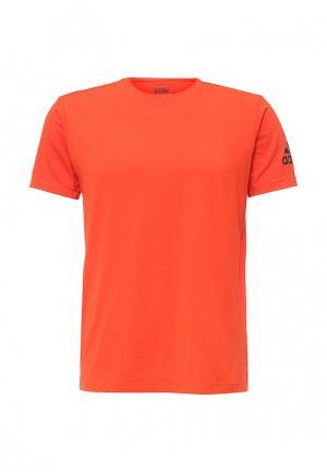 Футболка спортивная adidas Performance. Цвет: оранжевый