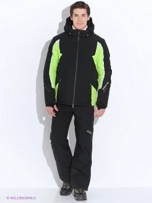 Куртка Baon. Цвет: черный, салатовый