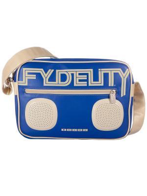 Сумка Fydelity. Цвет: синий