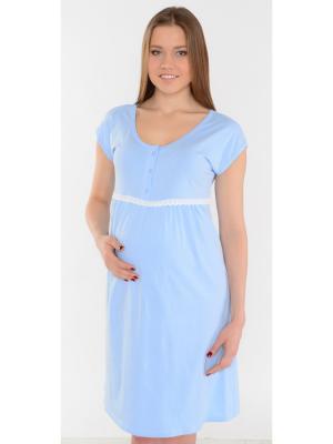 Ночная сорочка Ням-Ням. Цвет: голубой