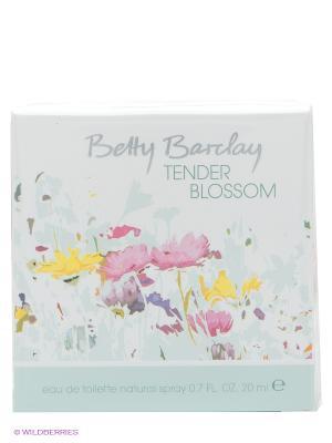Туалетная вода Tender Blossom, 20 мл. Betty Barclay. Цвет: светло-зеленый, желтый, белый