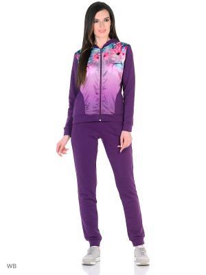 Спортивный костюм RELAX MODE. Цвет: фиолетовый