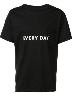 Printed T-shirt The Soloist. Цвет: чёрный