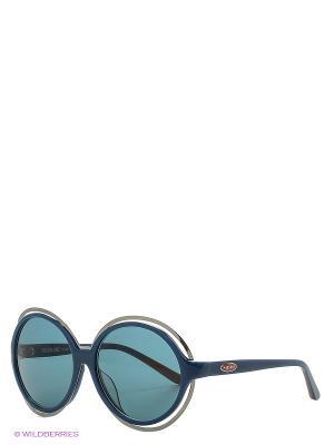 Солнцезащитные очки MI 803S 04 Missoni. Цвет: голубой
