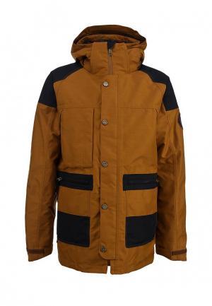Куртка горнолыжная Bonfire. Цвет: коричневый