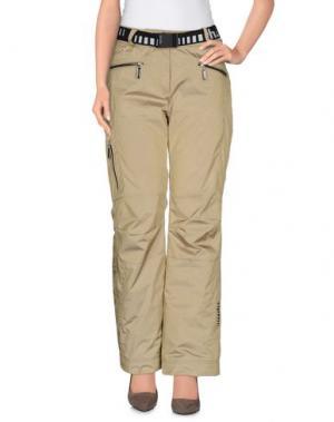 Лыжные брюки RH+. Цвет: бежевый