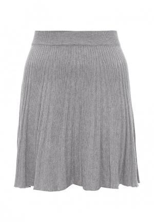 Юбка Moda Corazon. Цвет: серый