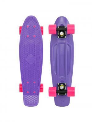 Комплект лонгборд ORIGINAL 22 (SS) PENNY. Цвет: темно-фиолетовый, розовый