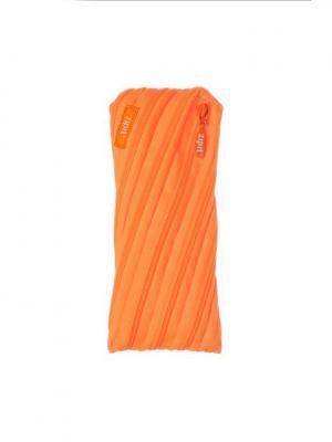 Пенал-сумочка NEON POUCH, цвет оранжевый ZIPIT. Цвет: оранжевый
