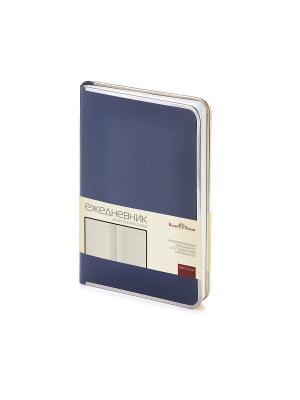 Ежедневник a5 chelsea (синий) Bruno Visconti. Цвет: синий