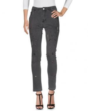 Джинсовые брюки 22 MAGGIO by MARIA GRAZIA SEVERI. Цвет: черный