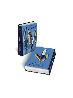 Декоративная шкатулка Перья Magic Home. Цвет: синий