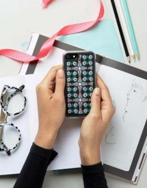 Zero Gravity Чехол для iPhone 6 с принтом. Цвет: мульти
