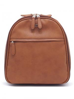 Рюкзак Solo true bags. Цвет: коричневый, рыжий