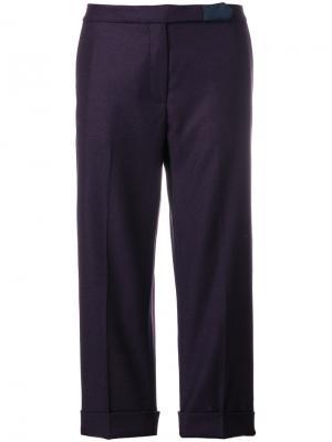 Укороченные брюки Pence. Цвет: розовый и фиолетовый