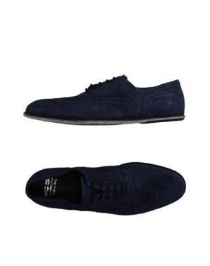 Обувь на шнурках FESSURA. Цвет: синий
