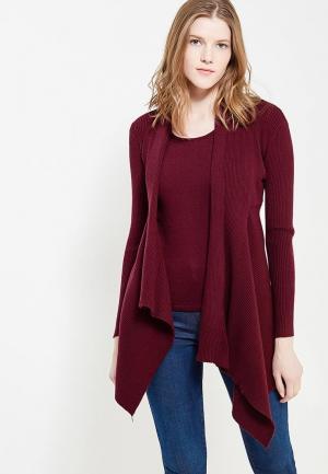 Твинсет Conso Wear. Цвет: бордовый