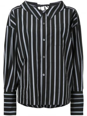 Lace back collar shirt G.V.G.V.. Цвет: чёрный