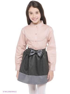 Блузка JERRY JOY. Цвет: розовый