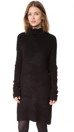 Платье-свитер Collins BB Dakota. Цвет: голубой
