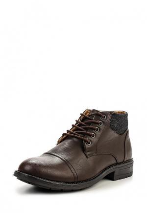Ботинки Moza-X. Цвет: коричневый