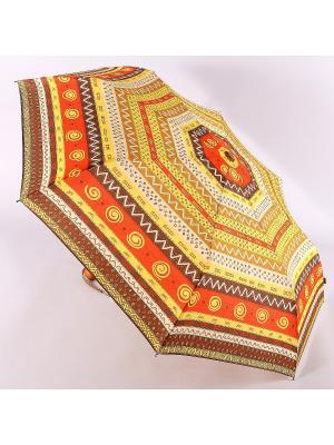 Зонт Airton. Цвет: рыжий, оранжевый, светло-желтый