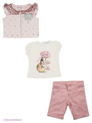 Комплект Baby Rose. Цвет: бежевый, розовый