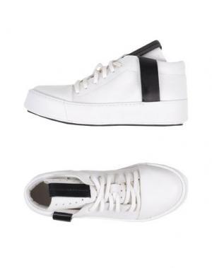 Высокие кеды и кроссовки ARTSELAB. Цвет: белый