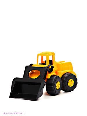 Игрушка Экскаватор AVC. Цвет: желтый, черный