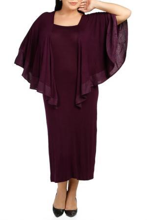 Платье Milanesse. Цвет: фиолетовый
