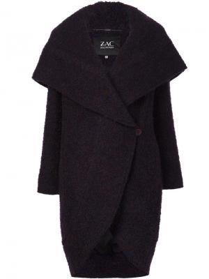 Пальто-кокон Camilla Zac Posen. Цвет: розовый и фиолетовый