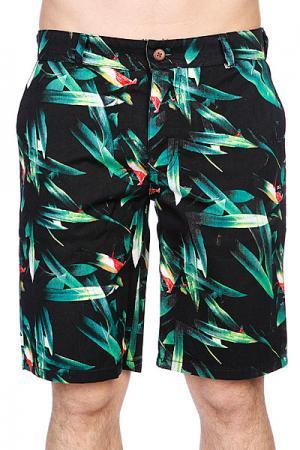 Шорты джинсовые  Oahu Chino Shorts Black K1X. Цвет: черный