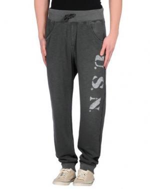 Повседневные брюки BOWERY. Цвет: свинцово-серый