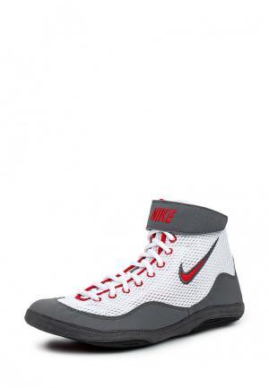 Борцовки Nike. Цвет: белый