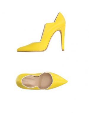 Туфли CHARLINE DE LUCA. Цвет: желтый