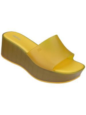 Сабо Melissa. Цвет: желтый