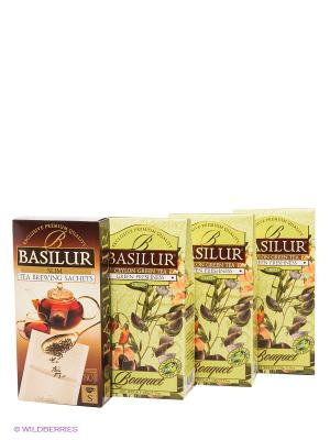 Чай Basilur Букет. Цвет: желтый