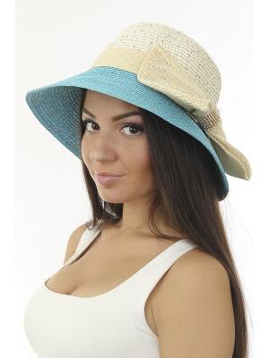 Шляпа Happy Charms Family. Цвет: голубой, бежевый