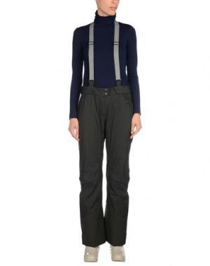 Лыжные брюки ODLO. Цвет: стальной серый